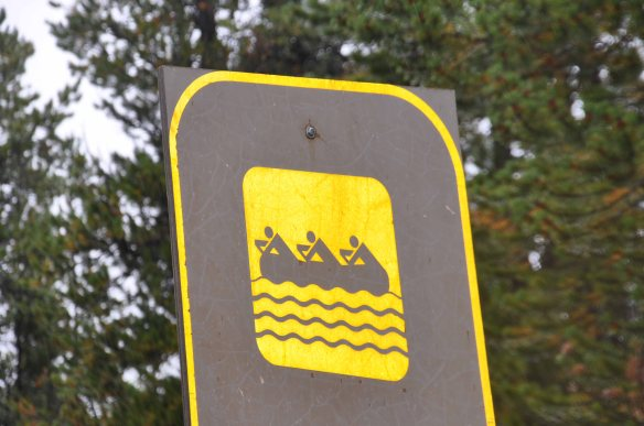 Is this for when the road is flooded? Watch out for that canoe...